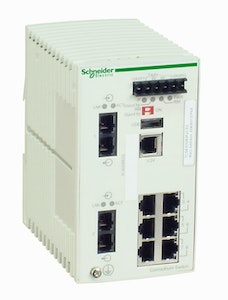 schneider Switch 6 10/100tx, 2 100fx-sm tcsesm083f2cs0